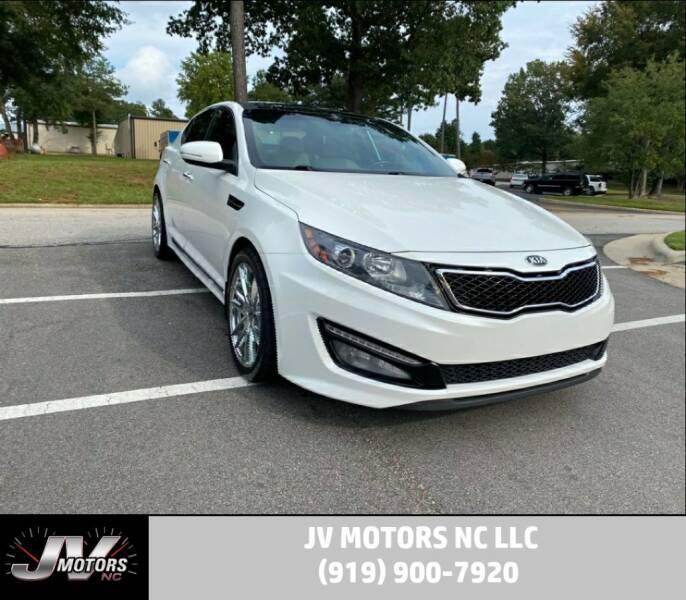 2013 Kia Optima for sale at JV Motors NC LLC in Raleigh NC