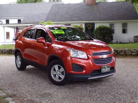 2015 Chevrolet Trax for sale at The Auto Barn in Berwick ME