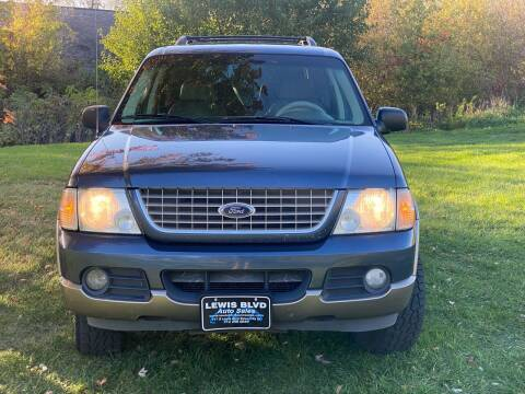 2002 Ford Explorer for sale at Lewis Blvd Auto Sales in Sioux City IA