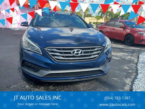 2015 Hyundai Sonata for sale at JT AUTO SALES INC in Oakland Park FL