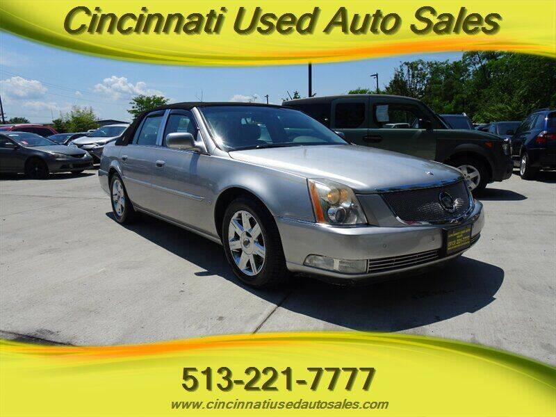 2006 Cadillac DTS for sale at Cincinnati Used Auto Sales in Cincinnati OH