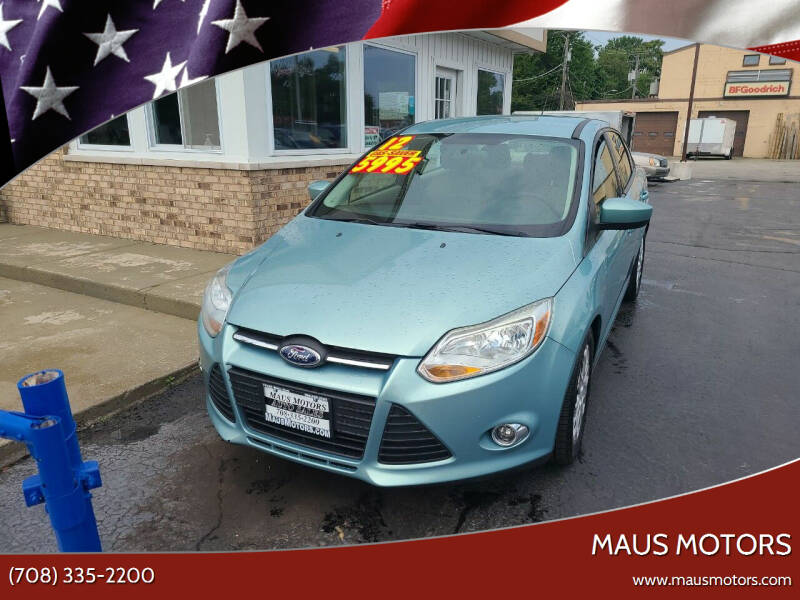 2012 Ford Focus for sale at MAUS MOTORS in Hazel Crest IL