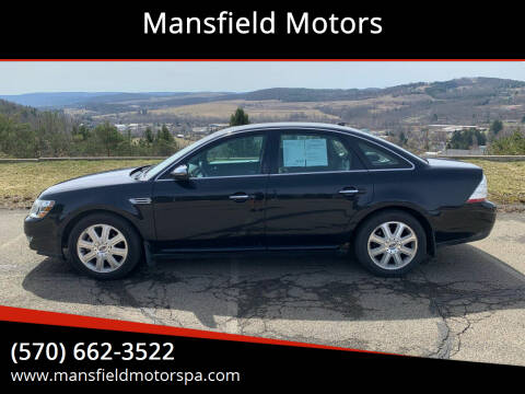 2008 Ford Taurus for sale at Mansfield Motors in Mansfield PA