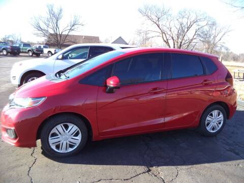 2019 Honda Fit for sale at Hawkins Motors Sales - Lot 1 in Hillside MI