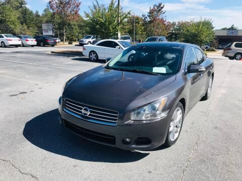 2010 Nissan Maxima for sale at Atlanta Motor Sales in Loganville GA