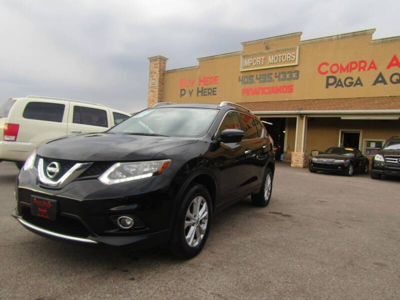 2016 Nissan Rogue for sale at Import Motors in Bethany OK