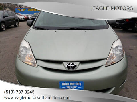 2009 Toyota Sienna for sale at Eagle Motors in Hamilton OH