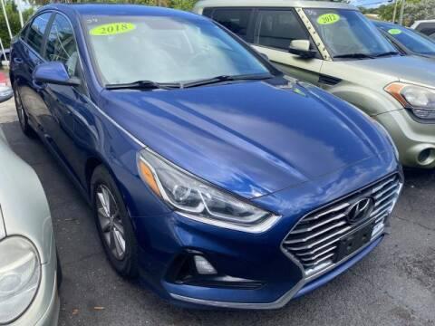 2018 Hyundai Sonata for sale at Mike Auto Sales in West Palm Beach FL