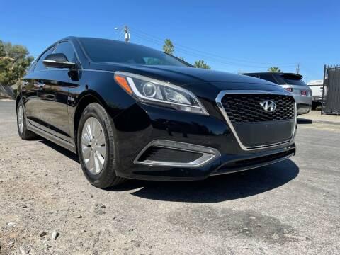 2016 Hyundai Sonata Hybrid for sale at Boktor Motors in Las Vegas NV