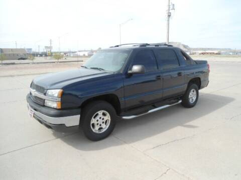 2004 Chevrolet Avalanche for sale at Twin City Motors in Scottsbluff NE