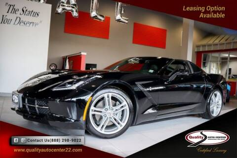 2017 Chevrolet Corvette for sale at Quality Auto Center of Springfield in Springfield NJ