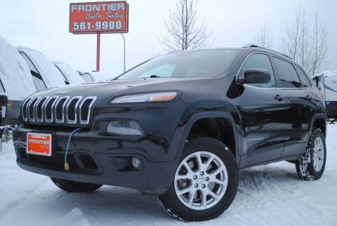 2014 Jeep Cherokee for sale at Frontier Auto & RV Sales in Anchorage AK
