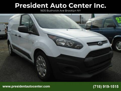 2015 Ford Transit Connect Cargo for sale at President Auto Center Inc. in Brooklyn NY