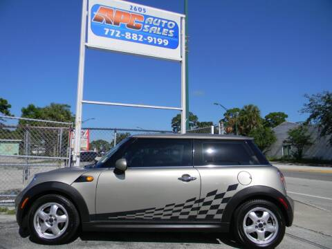 2007 MINI Cooper for sale at APC Auto Sales in Fort Pierce FL