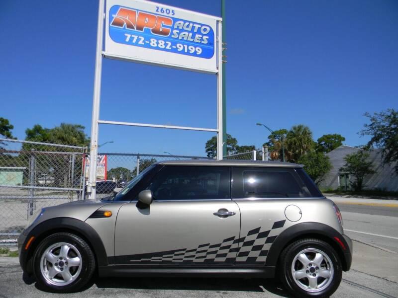 2007 MINI Cooper for sale at APC Auto Sales in Fort Pierce FL