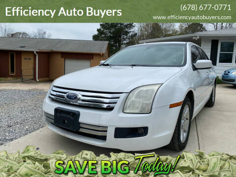 2006 Ford Fusion for sale at Efficiency Auto Buyers in Milton GA