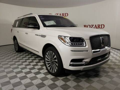 2019 Lincoln Navigator L for sale at BOZARD FORD in Saint Augustine FL