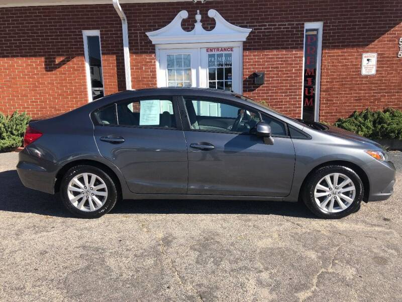 2012 Honda Civic for sale at Premium Auto Sales in Fuquay Varina NC