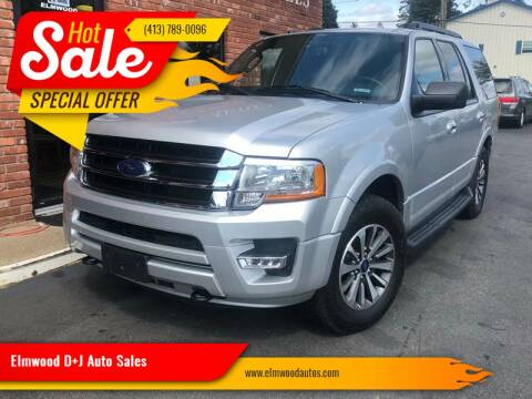 2017 Ford Expedition for sale at Elmwood D+J Auto Sales in Agawam MA