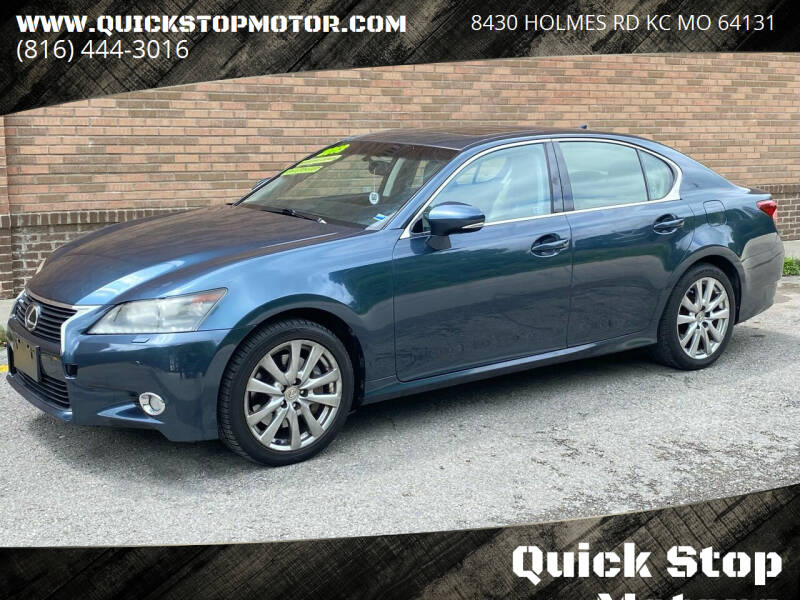 2013 Lexus GS 350 for sale at Quick Stop Motors in Kansas City MO