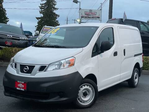 2018 Nissan NV200 for sale at Real Deal Cars in Everett WA
