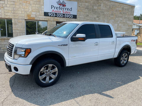 2012 Ford F-150 for sale at Preferred Auto Sales in Tyler TX