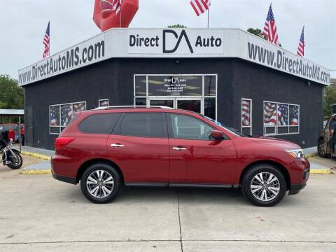 2018 Nissan Pathfinder for sale at Direct Auto in D'Iberville MS