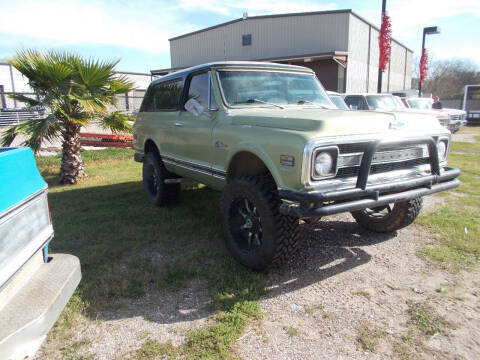 1970 Chevrolet Blazer for sale at MOTION TREND AUTO SALES in Tomball TX
