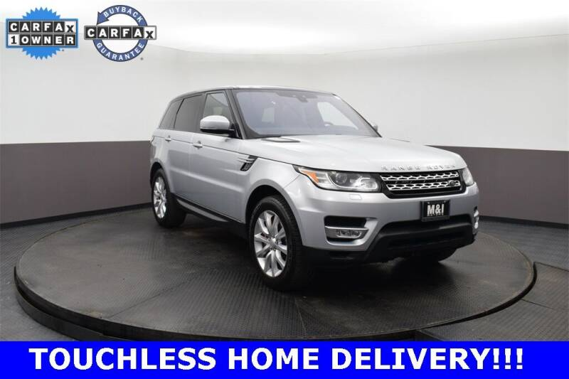 2017 Land Rover Range Rover Sport for sale at M & I Imports in Highland Park IL