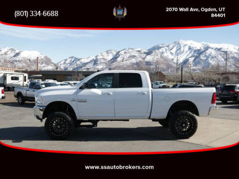 2018 RAM Ram Pickup 2500 for sale at S S Auto Brokers in Ogden UT