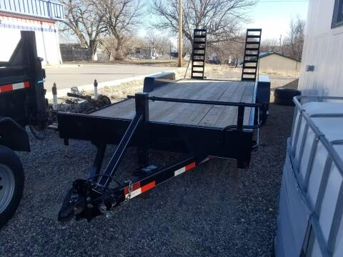 2020 DCT 20' EQUIPMENT HAULER 14,000 LB for sale at Bull Mountain Auto, Truck & Trailer Sales in Roundup MT