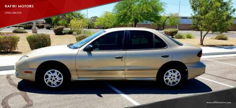 2005 Pontiac Sunfire for sale at RAFIKI MOTORS in Henderson NV