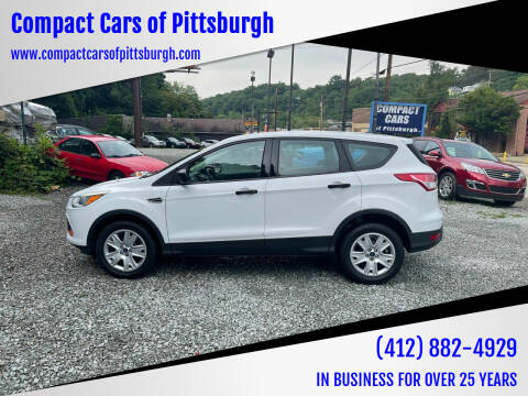 2013 Ford Escape for sale at Compact Cars of Pittsburgh in Pittsburgh PA