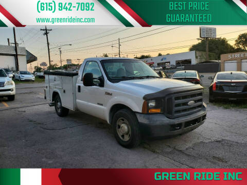 2006 Ford F-250 Super Duty for sale at Green Ride Inc in Nashville TN