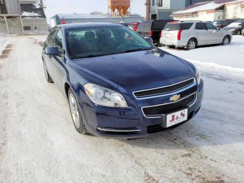 2010 Chevrolet Malibu for sale at J & S Auto Sales in Thompson ND