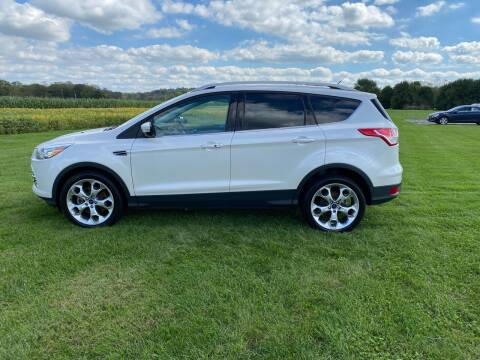 2015 Ford Escape for sale at Wendell Greene Motors Inc in Hamilton OH