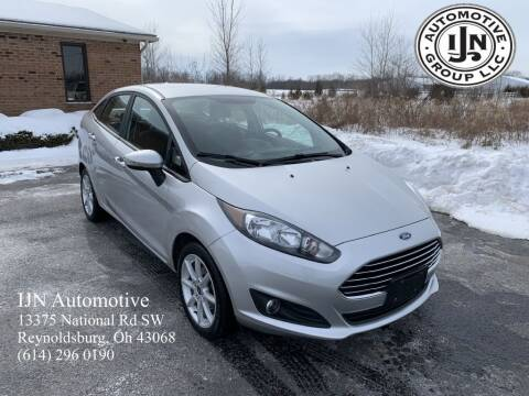 2016 Ford Fiesta for sale at IJN Automotive Group LLC in Reynoldsburg OH
