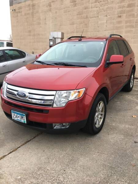 2008 Ford Edge for sale at MINNESOTA CAR SALES in Starbuck MN
