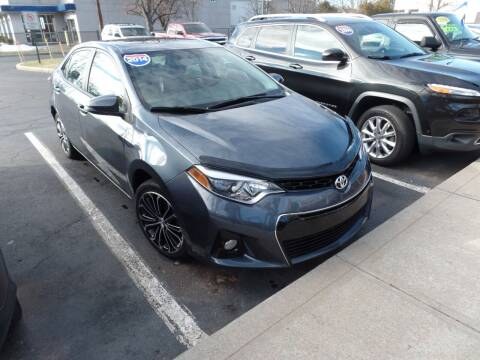 2014 Toyota Corolla for sale at CAR CORNER RETAIL SALES in Manchester CT