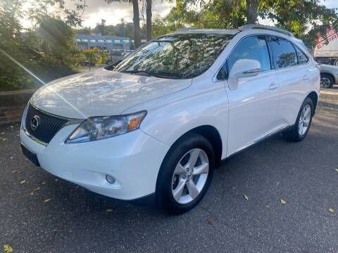 2012 Lexus RX 350 for sale at ANDONI AUTO SALES in Worcester MA