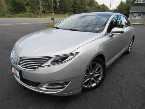 2013 Lincoln MKZ for sale at Guarantee Automaxx in Stafford VA