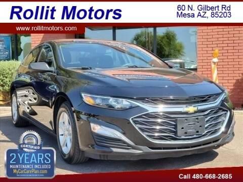 2019 Chevrolet Malibu for sale at Rollit Motors in Mesa AZ