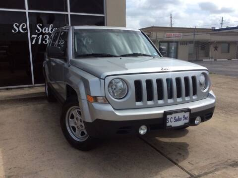 2014 Jeep Patriot for sale at SC SALES INC in Houston TX