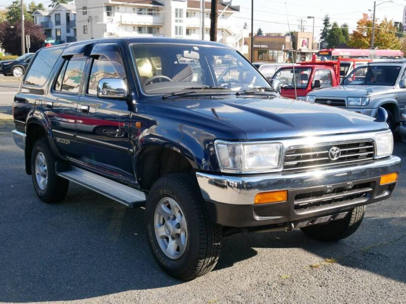 1994 Toyota Hilux Surf  1KZTE MT5 RESERVED for sale at JDM Car & Motorcycle LLC in Seattle WA