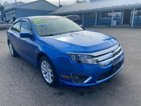 2012 Ford Fusion for sale at HACKETT & SONS LLC in Nelson PA
