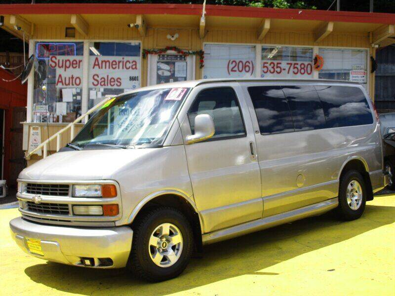 2001 Chevrolet Express Passenger for sale in Seattle, WA