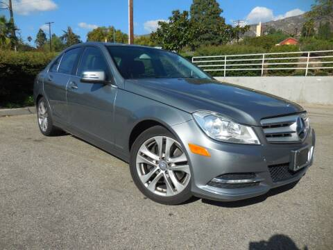 2013 Mercedes-Benz C-Class for sale at ARAX AUTO SALES in Tujunga CA
