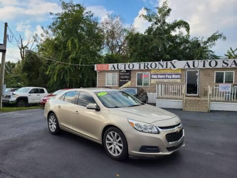 2014 Chevrolet Malibu for sale at Auto Tronix in Lexington KY