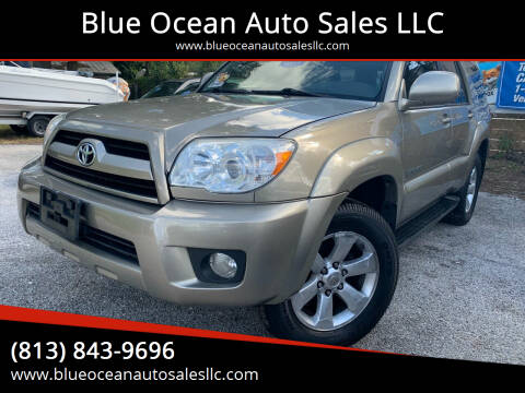 2006 Toyota 4Runner for sale at Blue Ocean Auto Sales LLC in Tampa FL