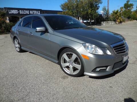 2011 Mercedes-Benz E-Class for sale at ARAX AUTO SALES in Tujunga CA